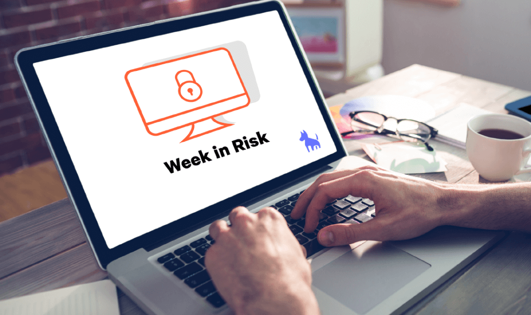 Week in Risk screen illustration