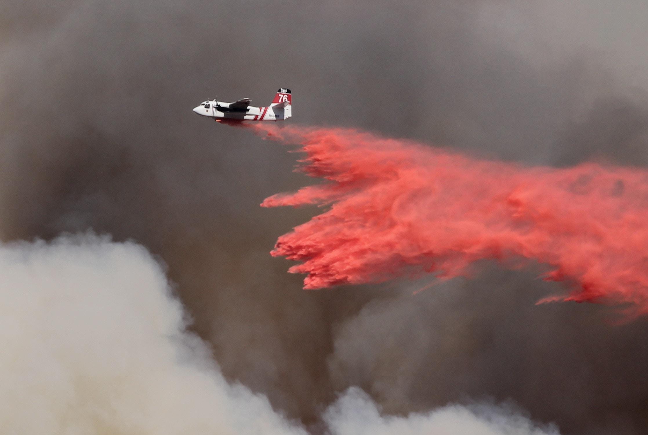 California wildfires rescue