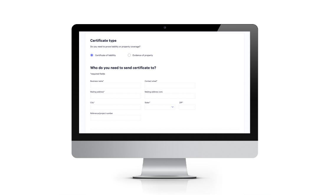 certificate of insurance illustration