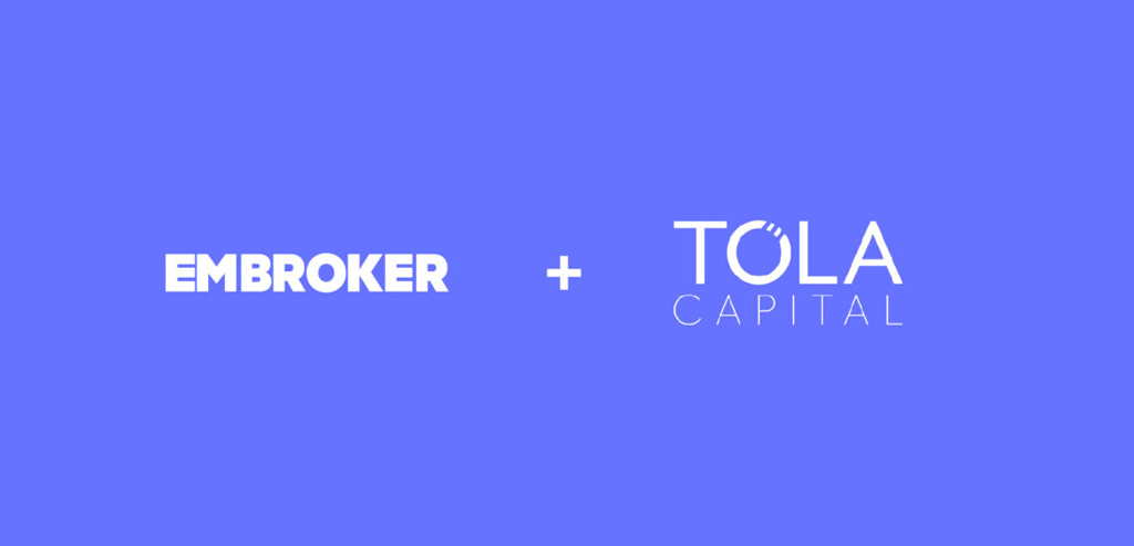 Embroker and Tola Capital funding annoucement