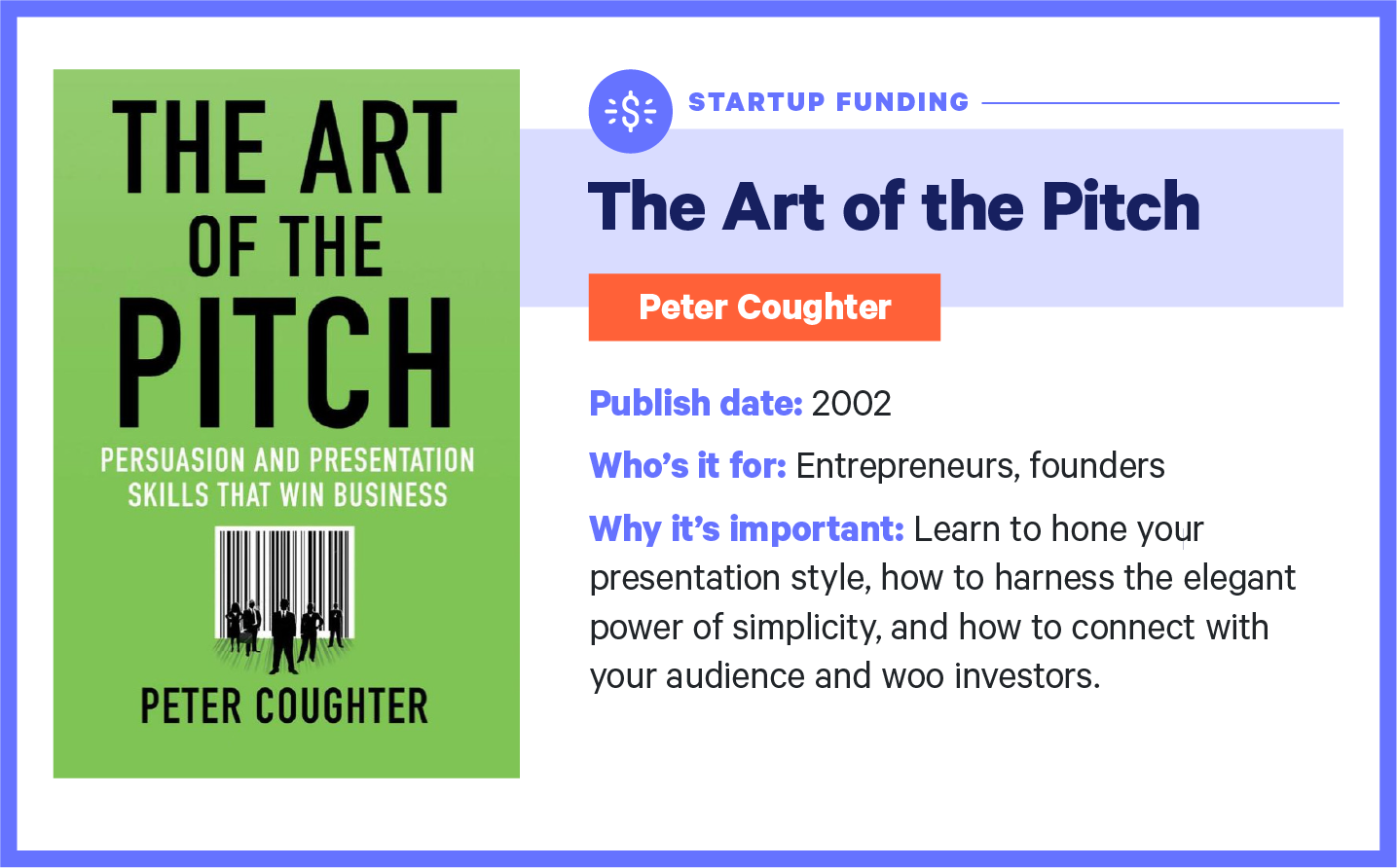 the art of the pitch book