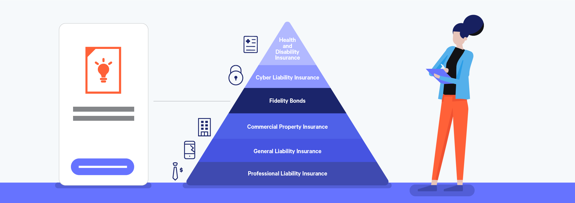 fidelity bonds as a key freelance insurance policy illustration