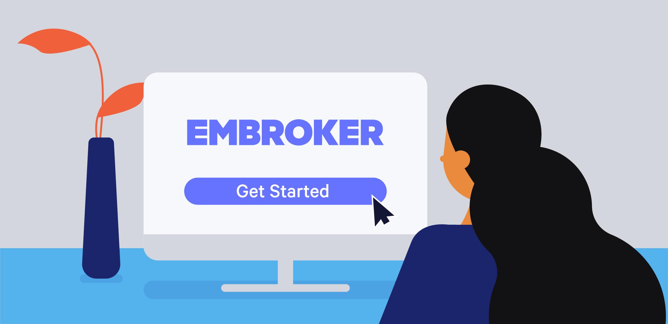 Embroker vs Founder Shield illustration