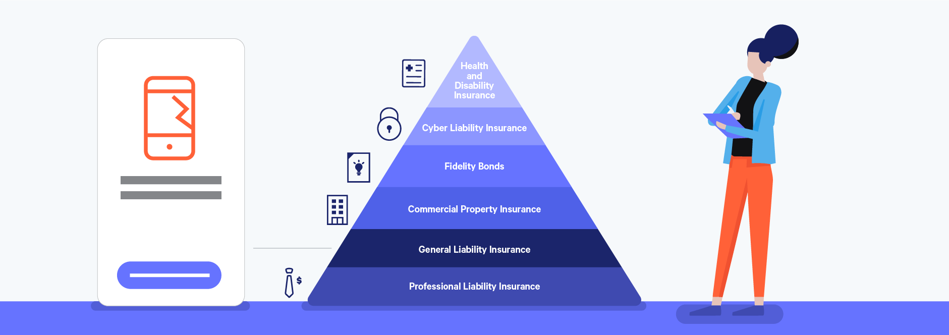general liability insurance as a key freelance insurance policy illustration