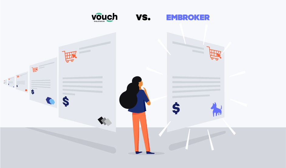 vouch vs. embroker illustration