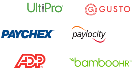 hr and payroll services logos