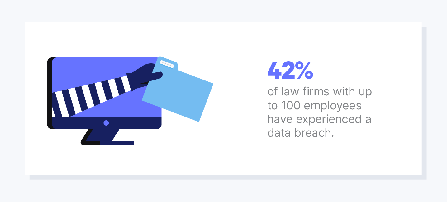 law firm statistic illustration