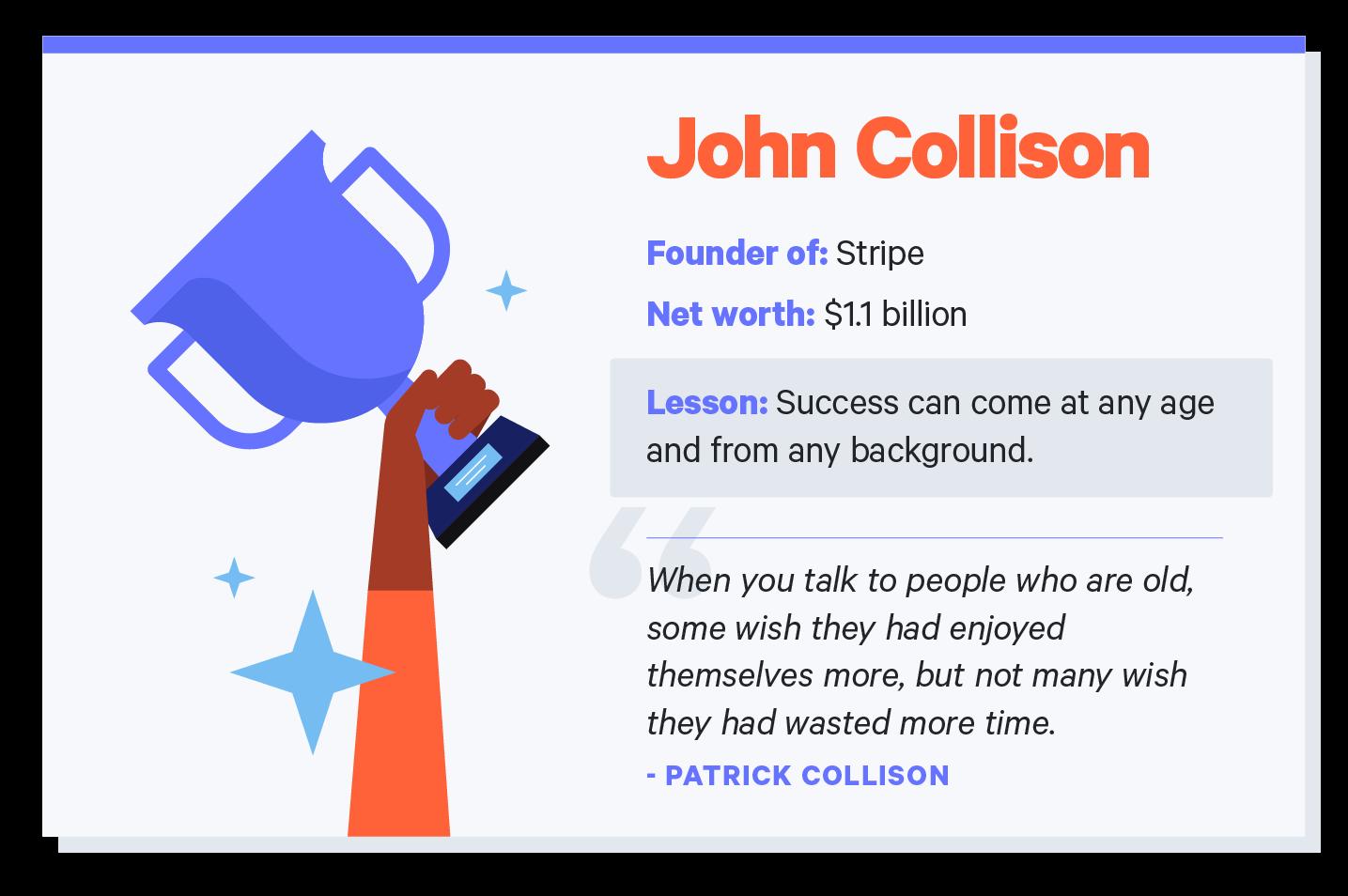 john collison quote