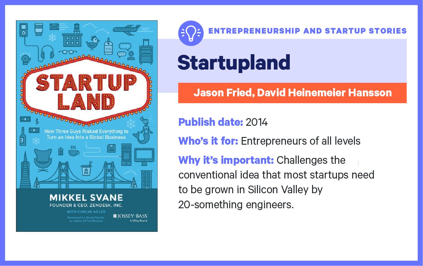 startup land book