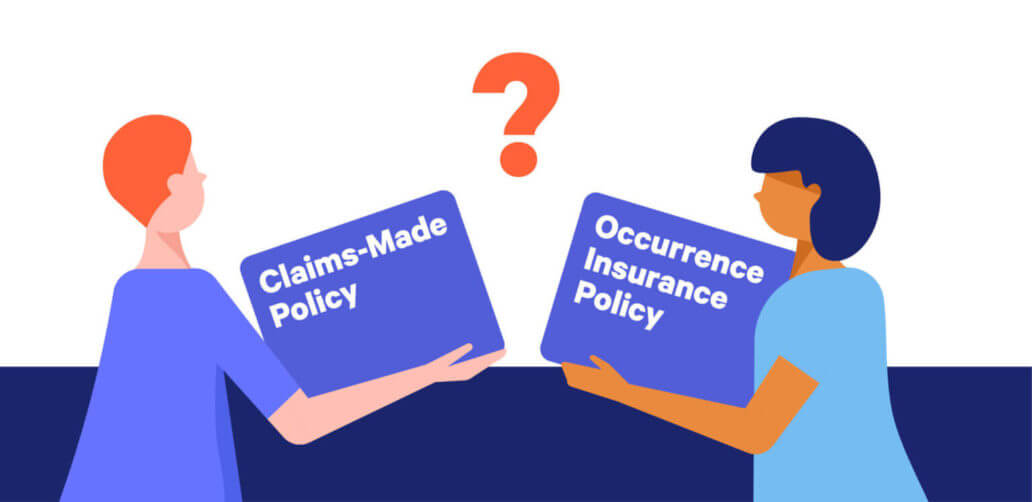 claims made vs occurrence policy illustration