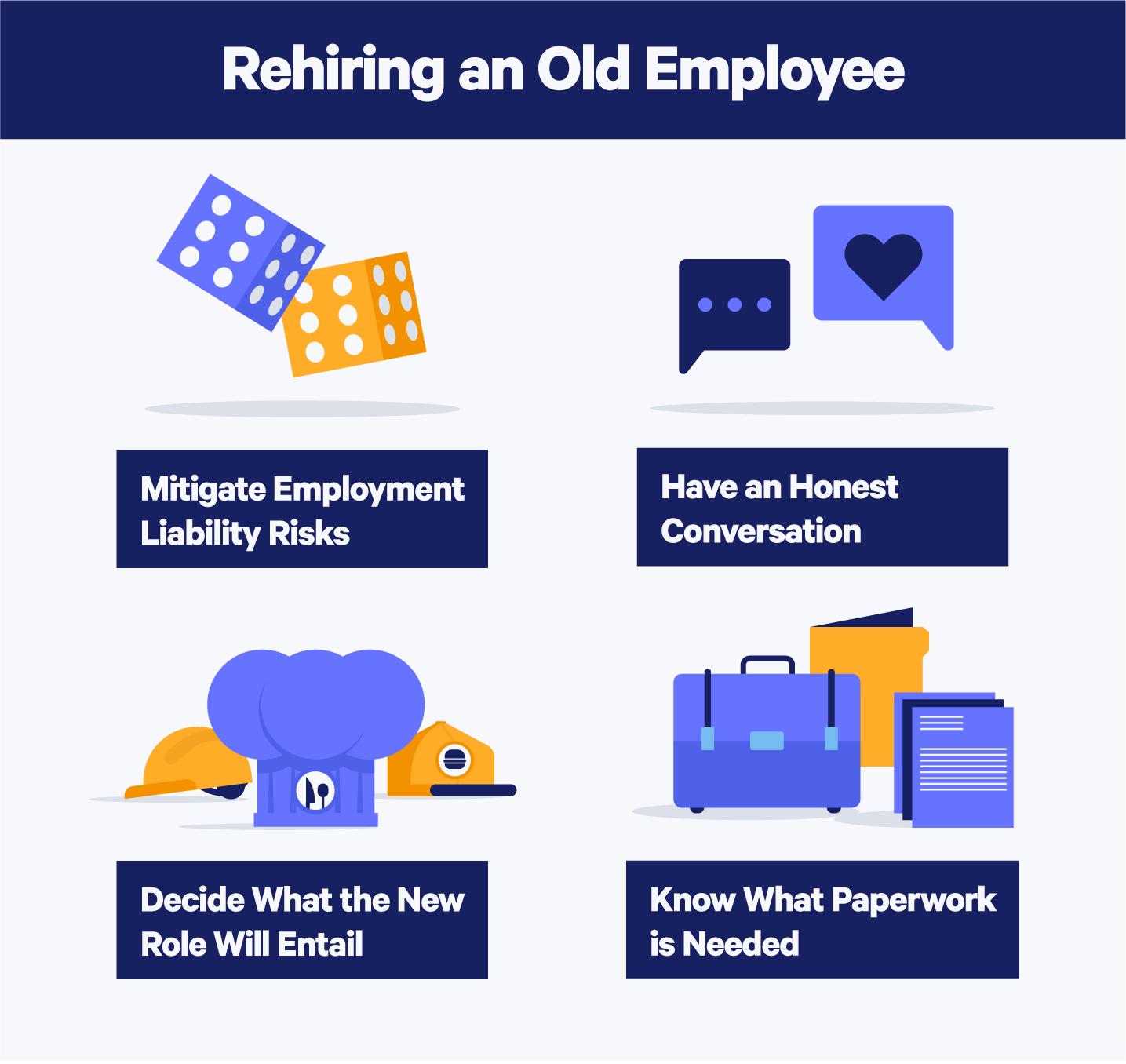 Rehiring old employee tips