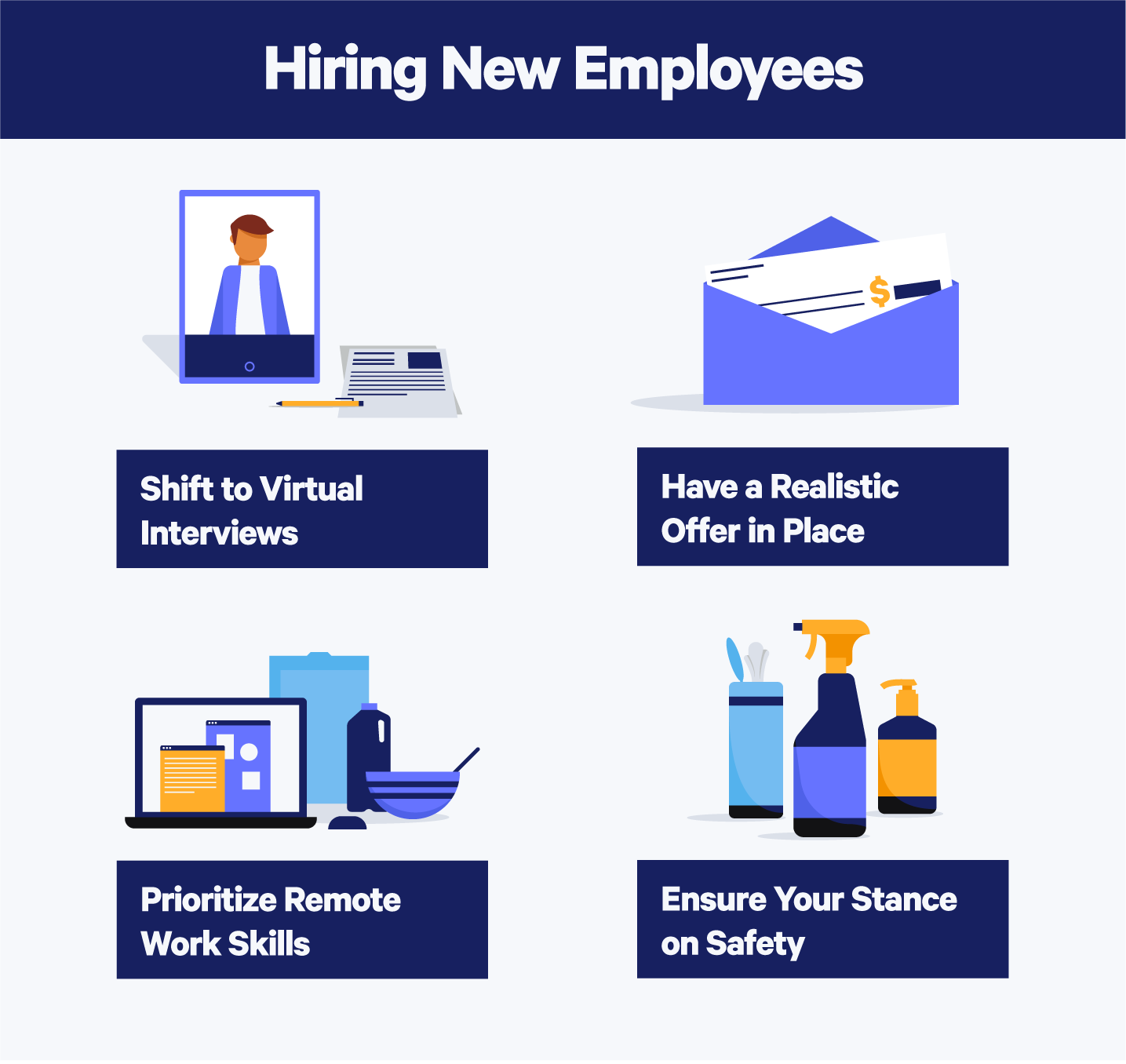Hiring new employees during covid 19