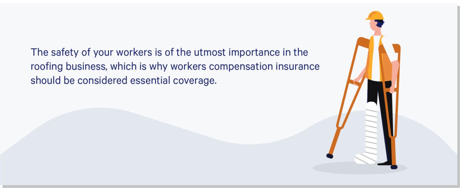 illustration of injured worker