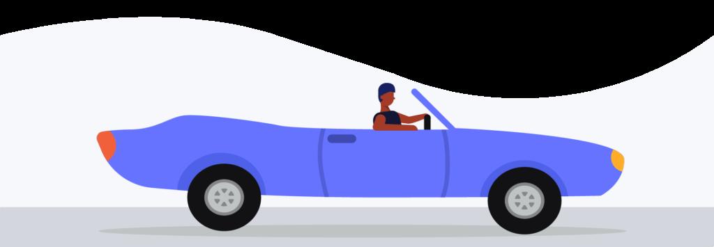 commercial auto insurance illustration