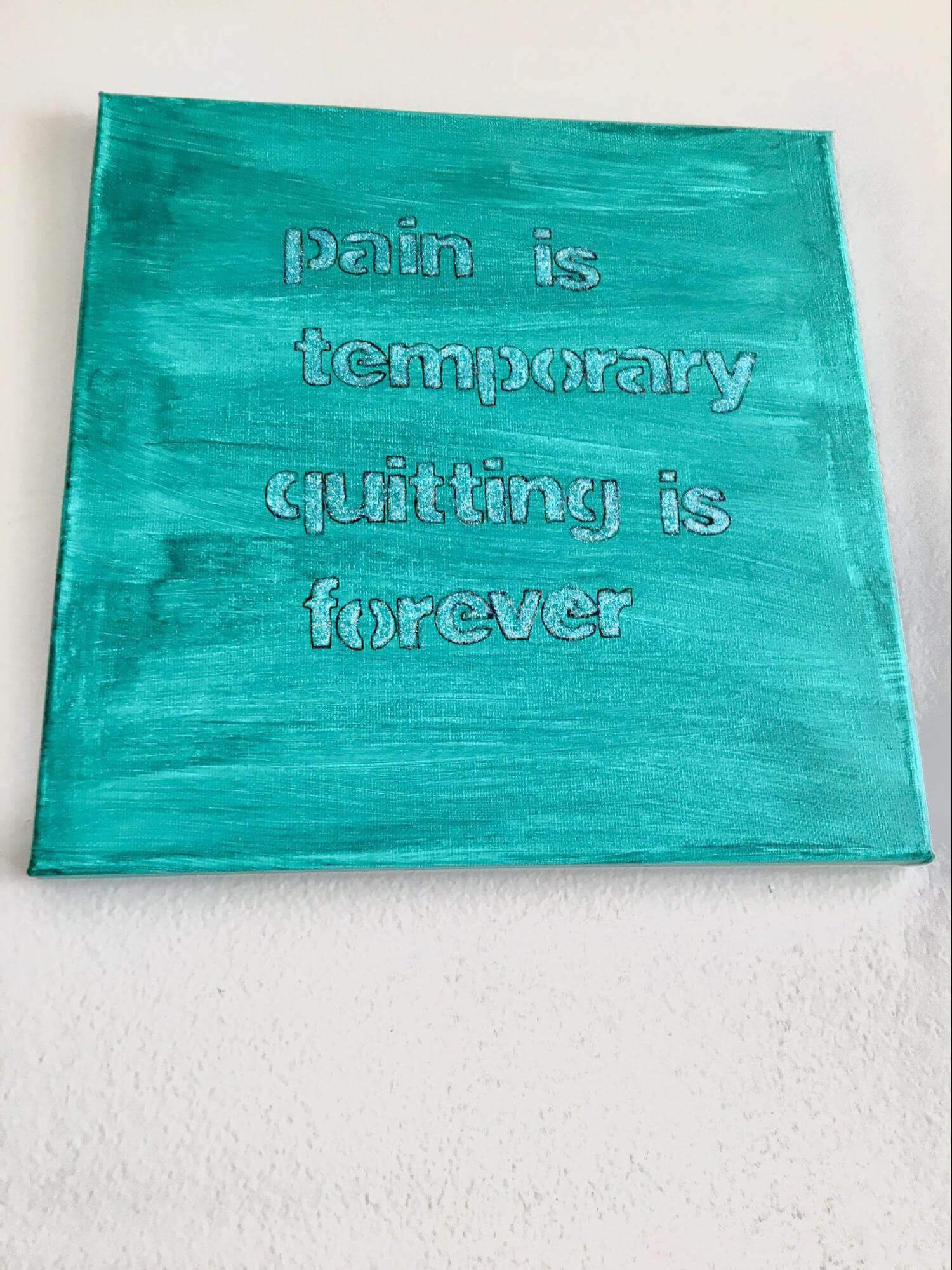 pain is temporary quitting is forever quote