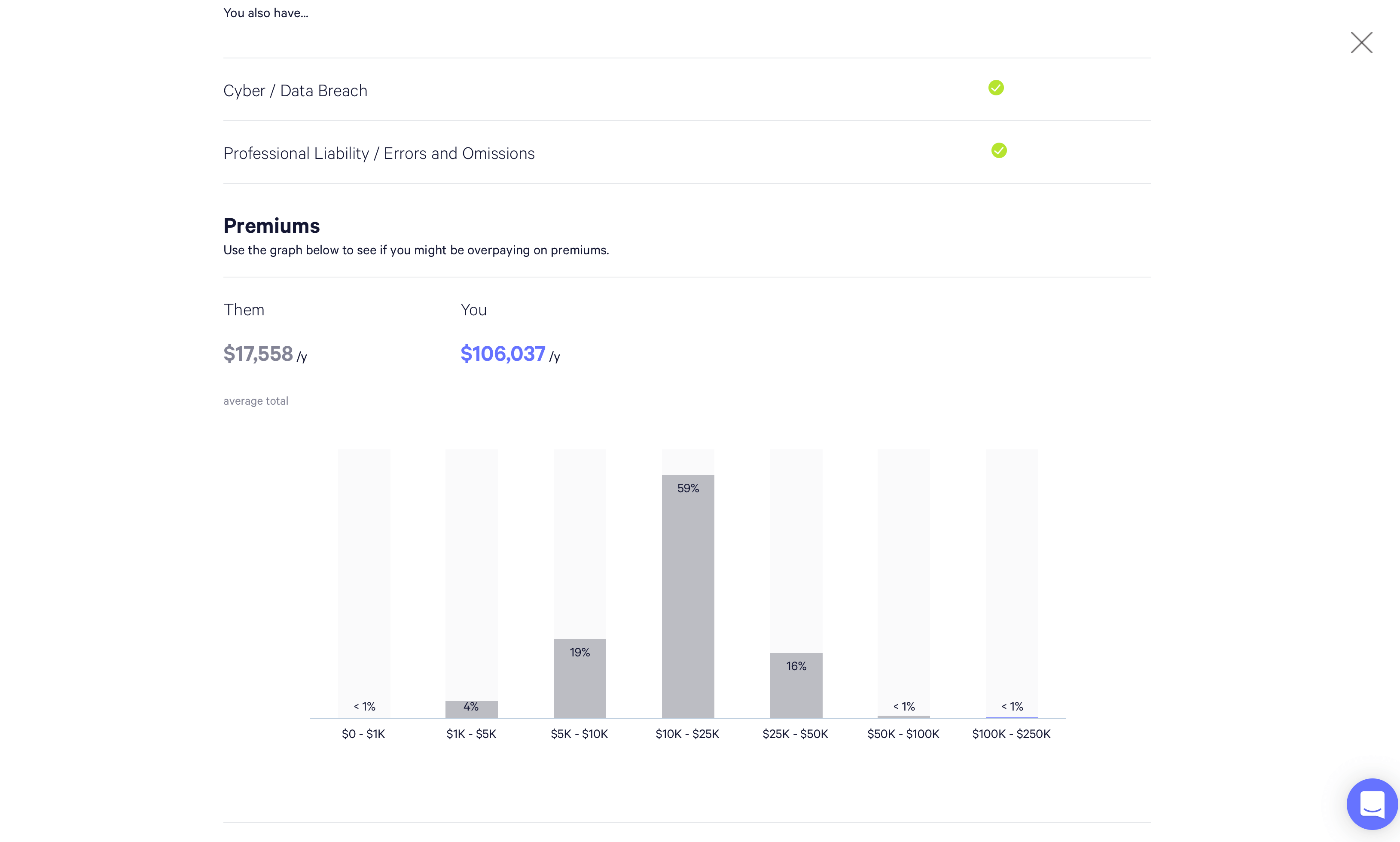 Digital insurance Policy Vault screenshot