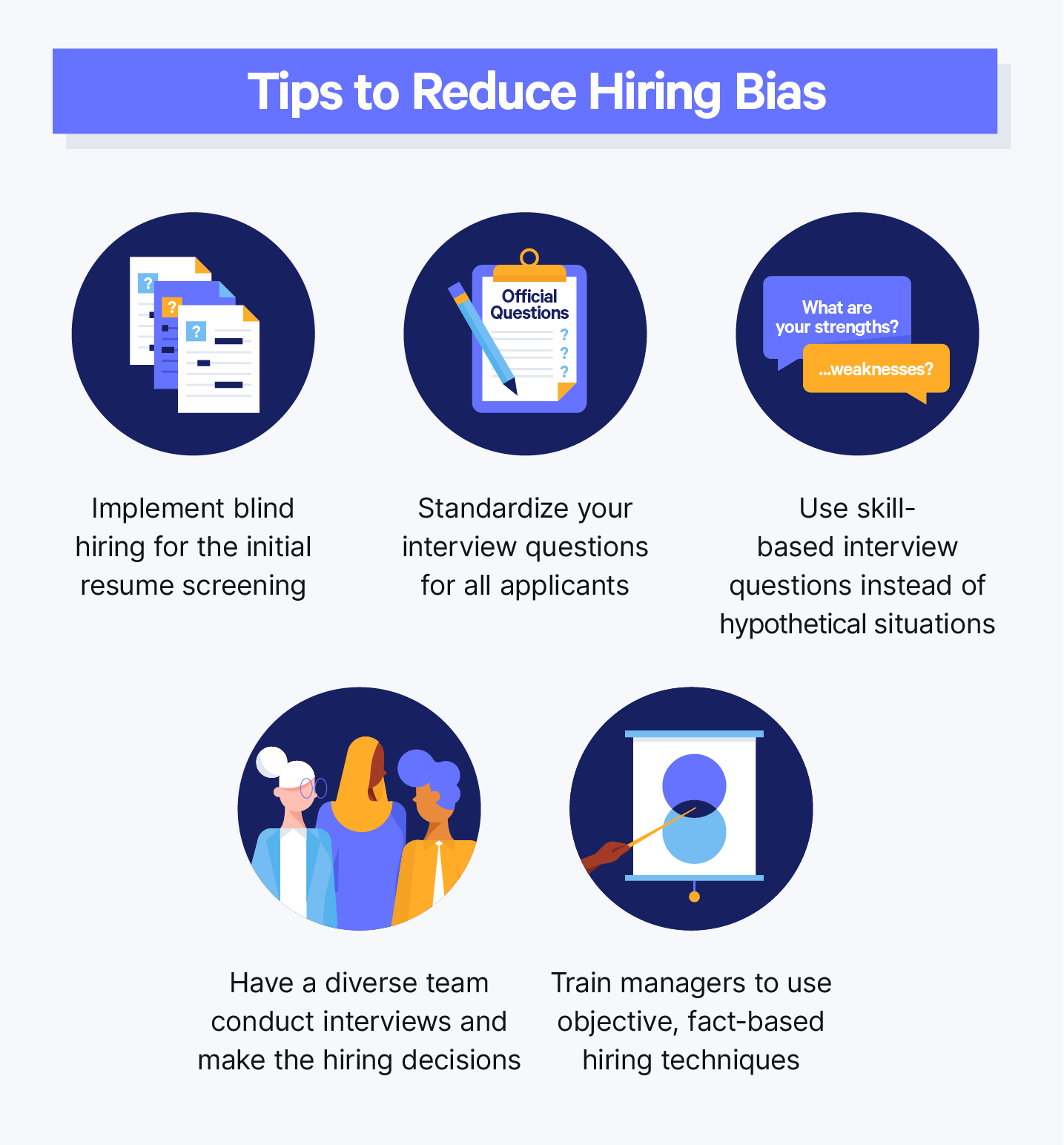 04 Tips To Reduce Hiring Bias