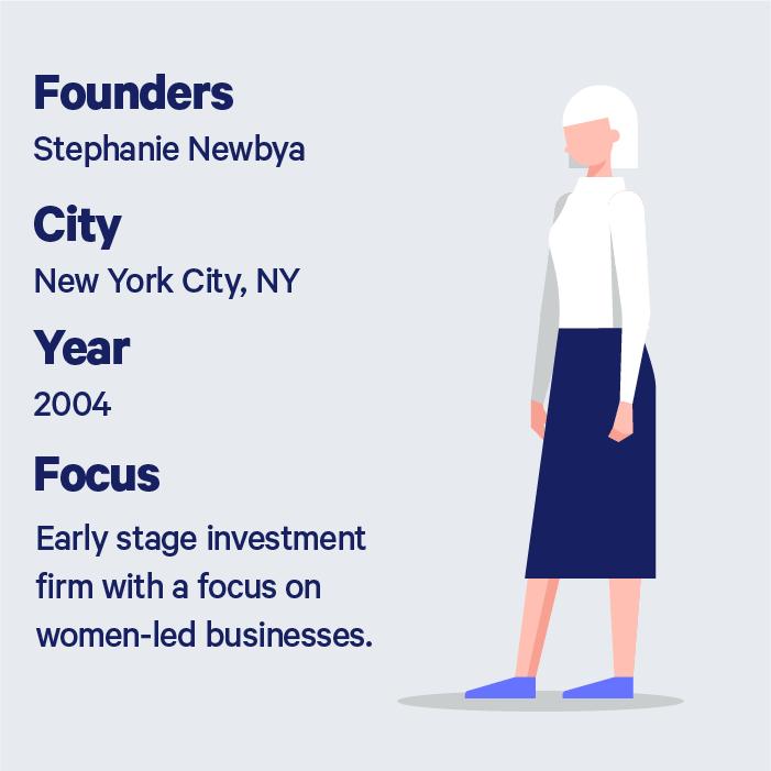 Description of Golden Seeds founder Stephanie Newbya