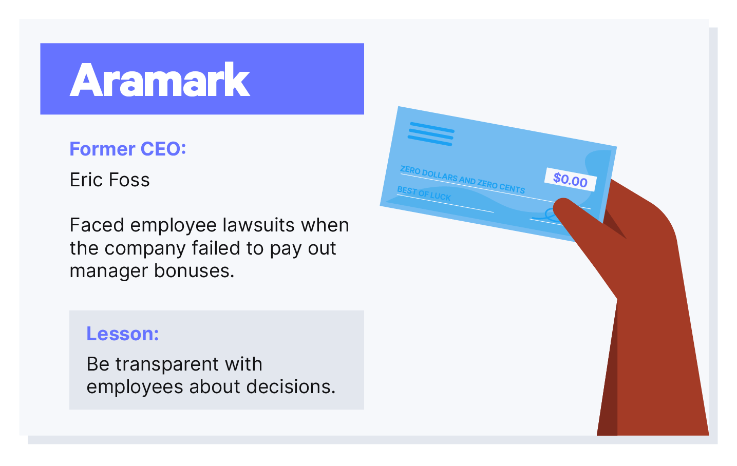 Aramark lawsuit post image