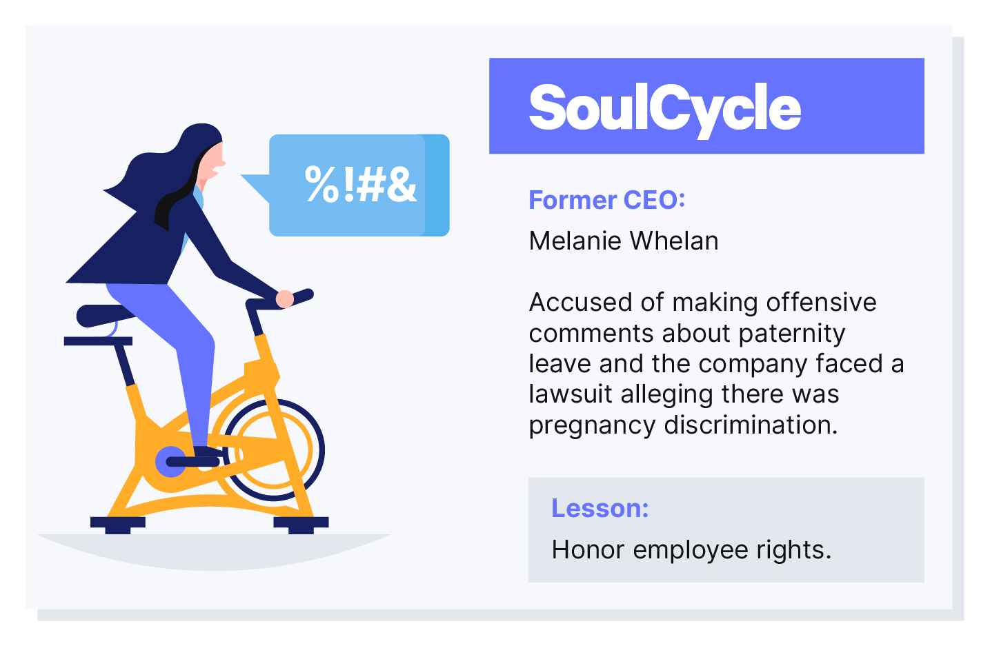 SoulCycle lawsuit post image