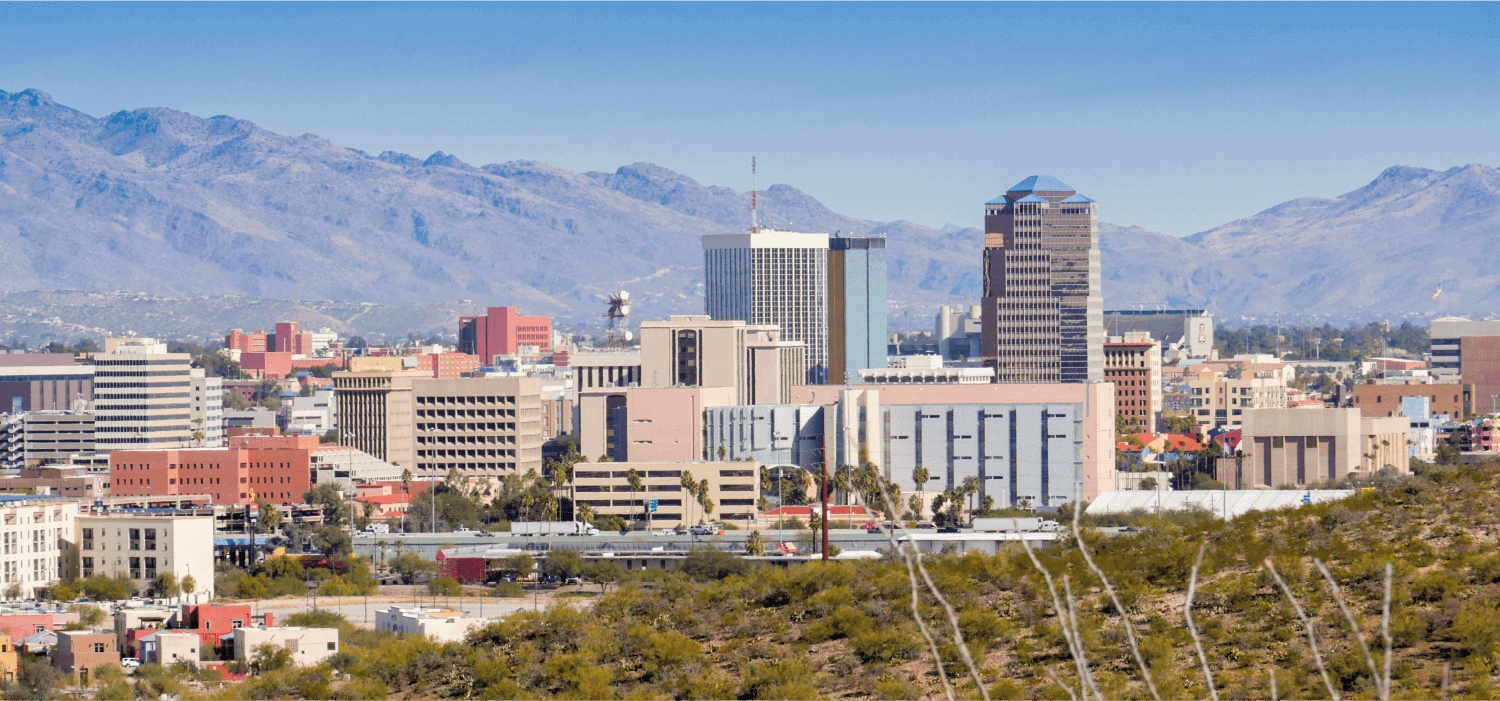 A photo of Tucson