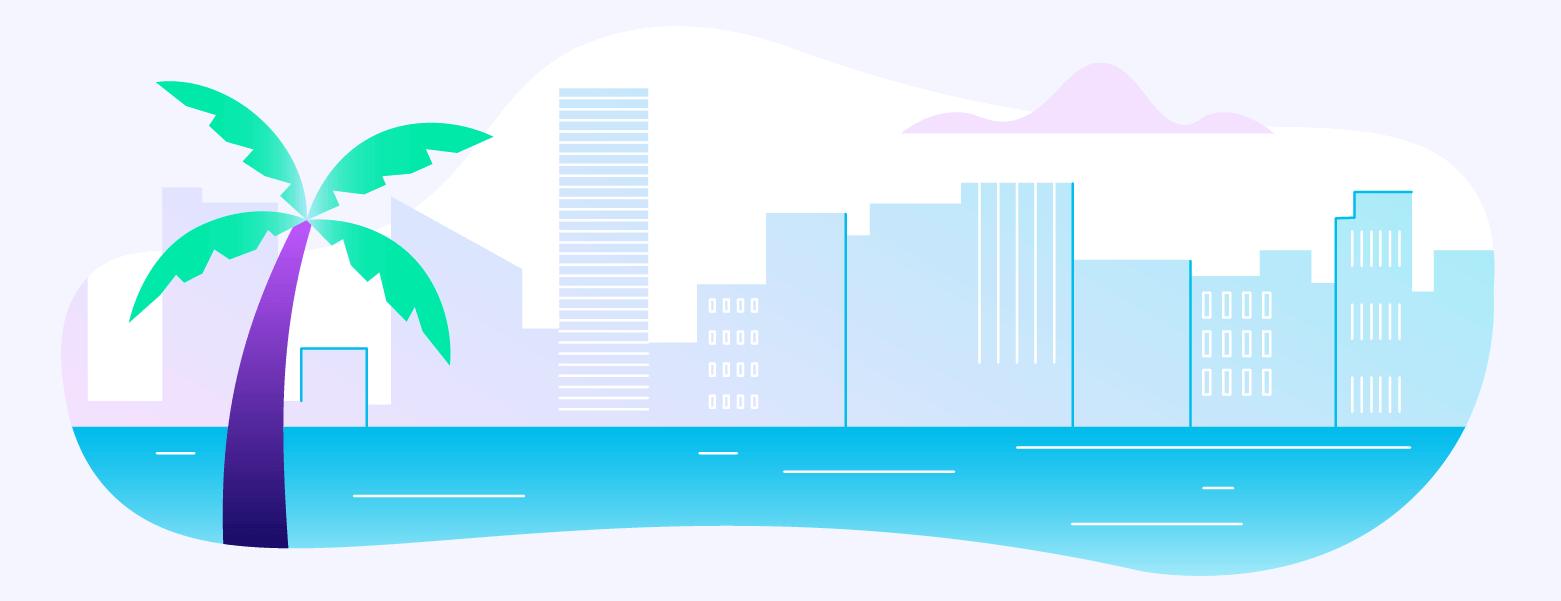 Miami Illustration